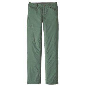 NWT   Patagonia Quandary Pants Pesto Green   14